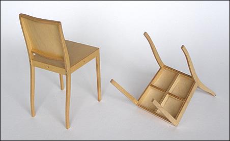 Morrison for Plywood chair morrison